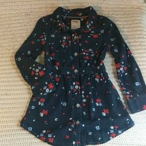 ❤💙 Levi's soft button up dress 2t great condition